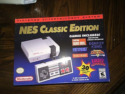 Nintendo Entertainment System NES Classic Edition White Console DISCONTINUED