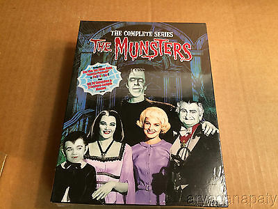 The Munsters - The Complete Series DVD 2008 12-Disc Set NEW SEALED