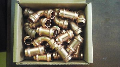 Propress fittings lot of 40 34 - 12 inch free shipping