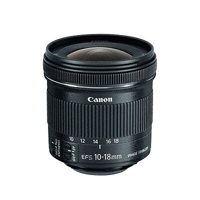 Canon EF-S 10-18mm f4-5-5-6 IS STM Lens for Digital SLR Camera