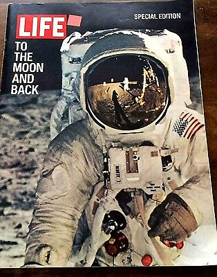 Life Magazine Special Edition To the Moon and Back 1969 Free Shipping