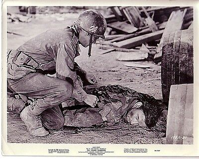1966 8X10 MOVIE STILL PHOTO-JAMES DRURY-THE YOUNG WARRIORS-2