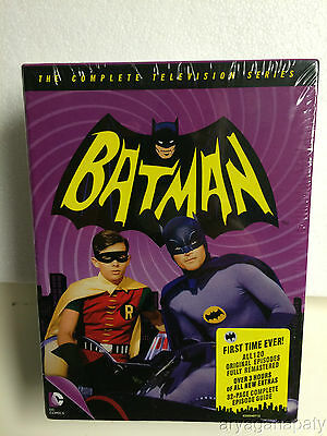 Batman The Complete Television Series DVD 2014 18-Disc Set NEW SEALED