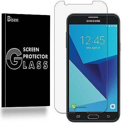 Samsung Galaxy J7 Sky Pro BISEN 2-PACK Tempered Glass Screen Protector Guard