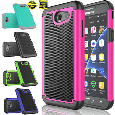 For Samsung Galaxy Amp Prime 2 Express Prime 2 Shockproof Rugged Case Cover