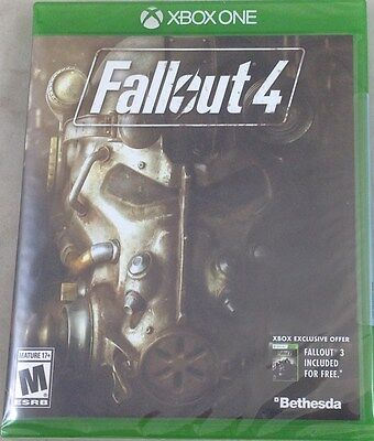 Fallout 4 Xbox One  Brand New Factory Sealed 0421-RB11