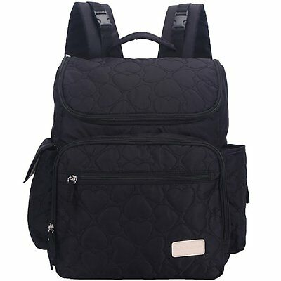 Leke Baby Diaper Bag Backpack with Changing Pad and Stroller Straps for Diaper