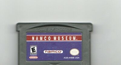 Nintendo Game Boy Advance NAMCO MUSEUM Video Game Cartridge