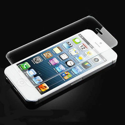 High Quality Premium Real Tempered Glass Screen Protector for iPhone 5 5S 5C