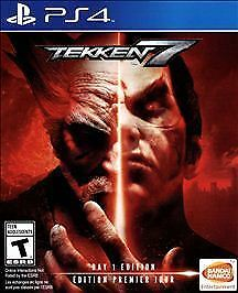 Tekken 7 Day 1 Edition - BRAND NEW - SEALED Sony PlayStation 4 2017