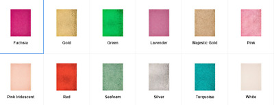 Glitter Fabric Sheet Various Colors 11 34 x 8 38 New Price Per Sheet