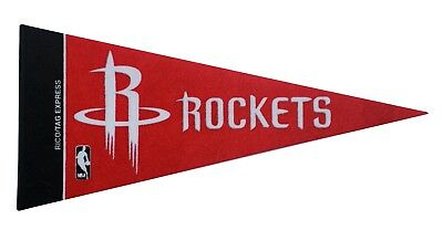 New Houston Rockets NBA Mini Pennant  9x4 Made in USA banner flag