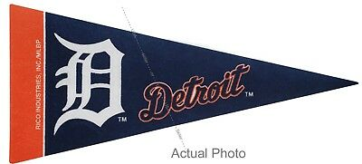 New MLB Detroit Tigers Mini Pennant  9x4 Made in USA Flag Pennant