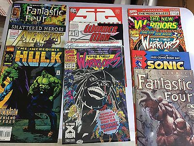 HUGE Lot of 70-75 MARVEL and Random  Comic Books  stuffed boxes  FREE SHIPPING