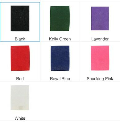 Stiffened or Soft Glimmer Felt Sheet Various Colors 9x12 Free Shipping