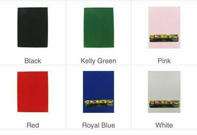 NWT Peel - Stick Felt Sheet Various Colors 9 x 12 Free Shipping - Volume Disc
