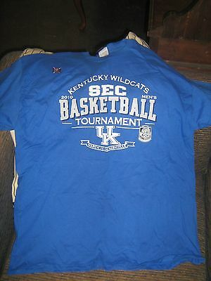 2010 University of Kentucky SEC Tournament T-Shirt XL