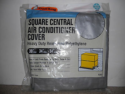 Frost King Central Air Conditioner Cover SQUARE 30H X 34W X 34D NIP CC32XH