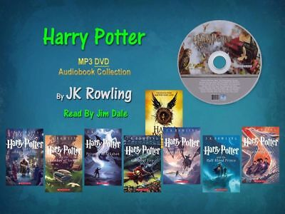 Harry Potter Complete J- K- Rowling Series-mp3 Audio Collection Set 8book