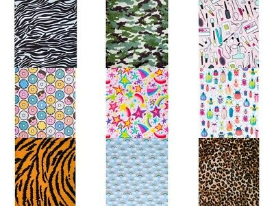 Printed Decorative Felt Sheet Various Colors 9x12 Free Shipping
