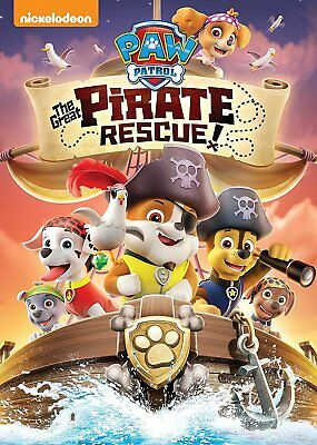 PAW Patrol The Great Pirate Rescue DVD - SHIPS WITHIN 1 BUSINESS DAY WTRACKING