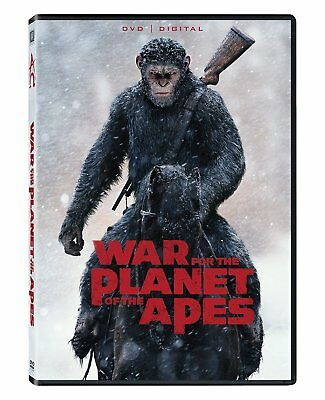 War for the Planet of the Apes DVD 2017 SHIPS WITHIN 1 BUSINESS DAY WTRACKING