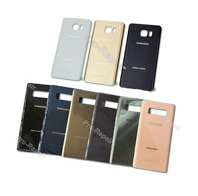 OEM Battery Glass Back Door Cover Replacement For Samsung Galaxy Note 5 Note 8