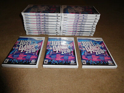 Just Dance 2018 Nintendo Wii Game BRAND NEW FACTORY SEALED