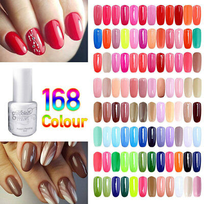 168 COLORS PROFESSIONAL NAIL GEL POLISH ART LONG LASTING POLISH MAKEUP