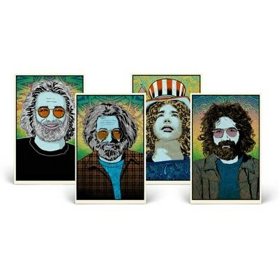 Chuck Sperry - Jerry Garcia - Print Set - Matching Numbers