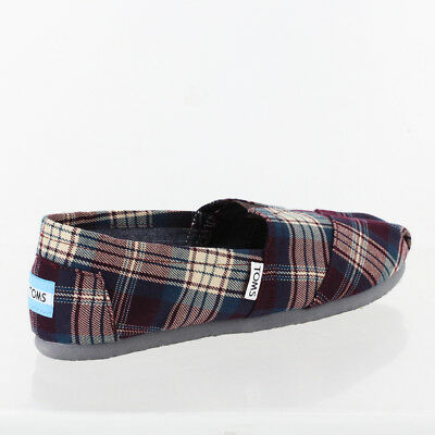 TOMS WOMENS CLASSIC SLIP-ON SHOES 10003636 SZ 7