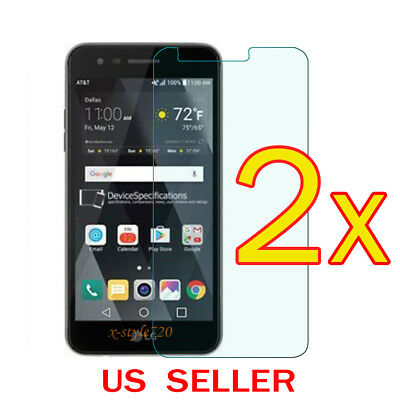 2x Clear LCD Screen Protector Guard Cover Film For LG Fortune Risio 2  Rebel 2