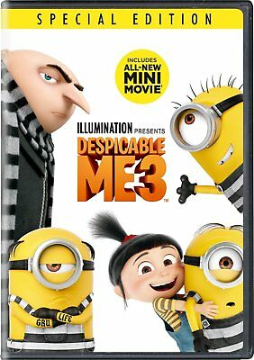 Despicable Me 3 DVD 2017 SHIPS WITHIN 1 BUSINESS DAY WITH TRACKING