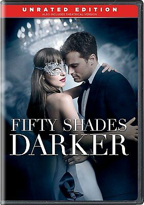 Fifty Shades Darker DVD SHIPS WITHIN 1 BUSINESS DAY WITH TRACKING