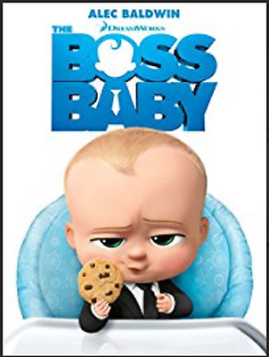The Boss Baby DVD 2017 Alec Baldwin SHIPS IN 1 BUSINESS DAY WITH TRACKING