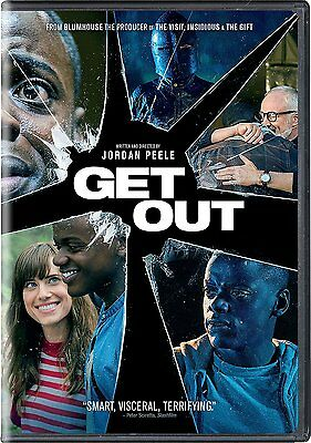 Get Out DVD 2017 NEW - SEALED - SHIPS WITHIN 1 BUSINESS DAY WITH TRACKING