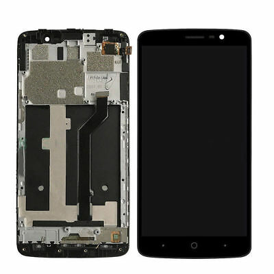 For ZTE MAX XL N9560 6-0 Assembly LCD Display Touch Screen Digitizer - Frame QC