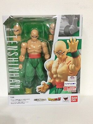 IN STOCK  AUTHENTIC S-H Figuarts Tien Shinhan Dragon Ball Z Action Figure Bandai