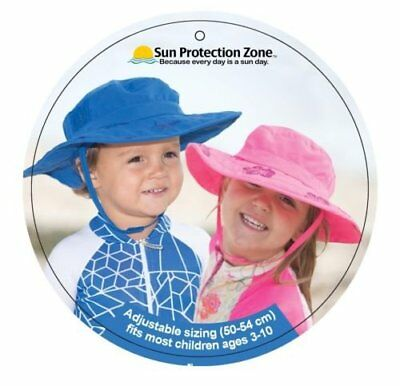 Sun Protection Zone Kids UPF 50- Adjustable Child Safari Beach Park Picnic Hat