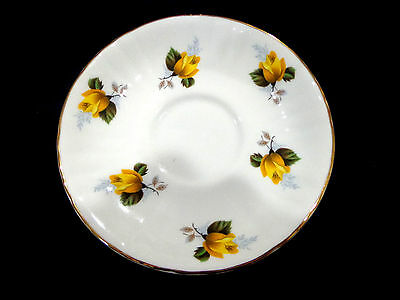 vintage Royal Grafton fine bone china saucer