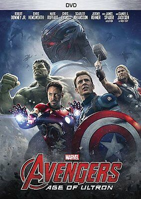 Avengers Age of Ultron DVD 2015