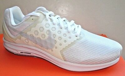 NIKE Downshifter 7 Mens Running Shoes 852459 100  White NWD