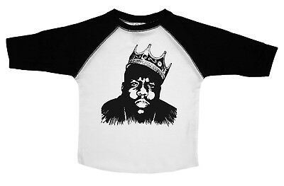 BIGGIE SMALLS  Funny Hip Hop Baby Bodysuit  Infant - Newborn Clothing
