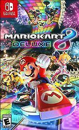 MARIO KART 8 DELUXE  NINTENDO SWITCH  BRAND NEW FACTORY SEALED
