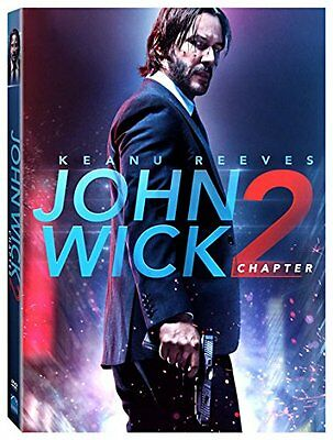 John Wick Chapter 2 DVD 2017 NEW Keanu Reeves SHIPS in 1 BUSINESS DAY