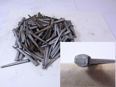 150 old square head cut nails 2 rose 7 flat shipping ALL U BUY