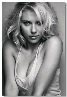 Poster Silk Scarlett Johansson Movie Actor Star Club Wall Art Print 201