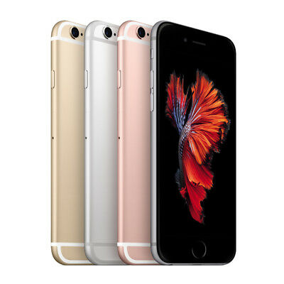 APPLE iPHONE 6S 16GB  64GB  128GB - Unlocked  Voda - Smartphone Mobile Phone