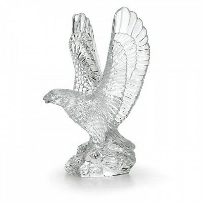 Waterford Fred Curtis 7-5in Eagle Crystal Sculpture Collectible New  105193