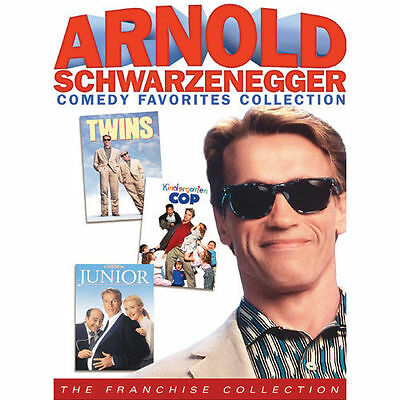 Arnold Schwarzenegger Comedy Favorites Collection - Twins  Junior  Kind Cop